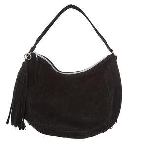 Black Hobo Messenger Bag,