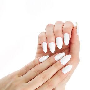 White Instant Nails,