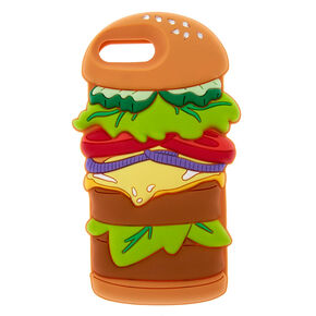 Silicone Hamburger Phone Case,