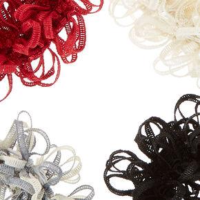 Fall Fun Looped Hair Scrunchies,