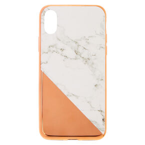 Rose Gold Marble Phone Case,
