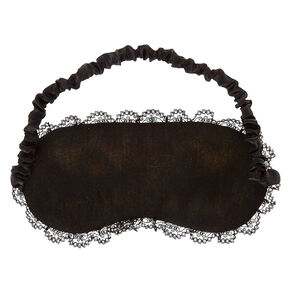Leopard Print Sleeping Mask with Eyelashes,