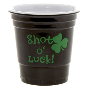 St. Patrick's Day Shot O' Luck Shot Glass,