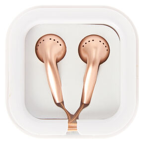 Rose Gold Earbuds,