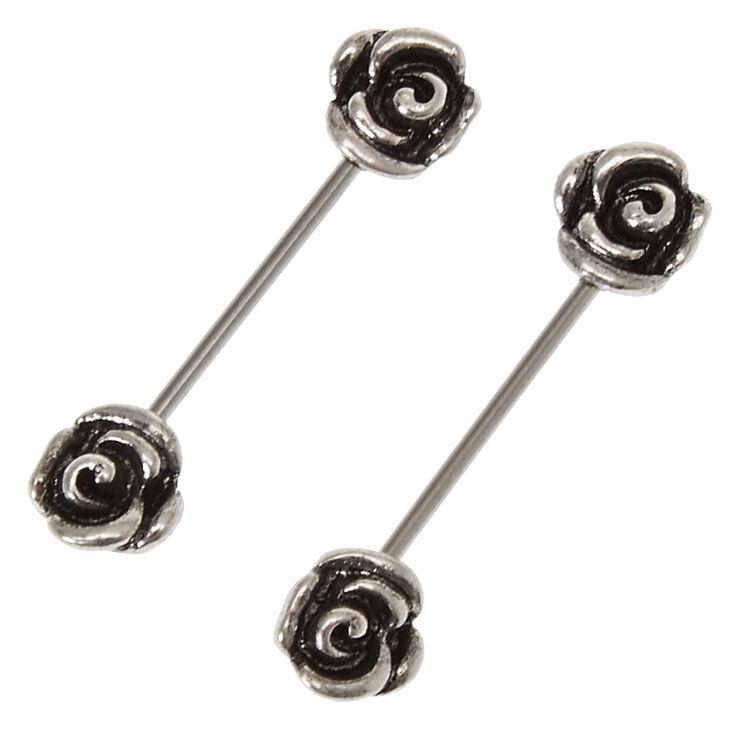 Guns N Roses Nipple Barbells,