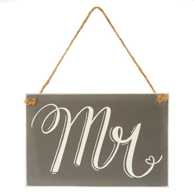 Mr. Chalkboard Chair Sign,