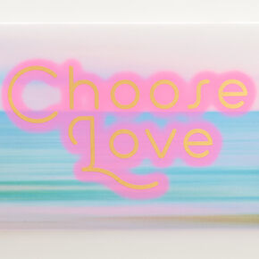Choose Love Pastel Wall Canvas,