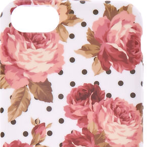 Floral & Polka Dot Phone Case,