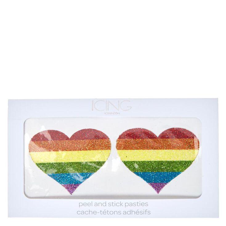 Rainbow Heart Pasties,