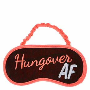 Hungover AF Sleeping Mask,