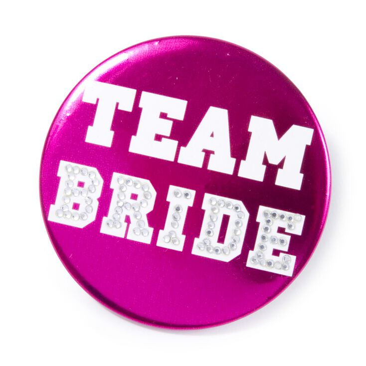Team Bride Button,