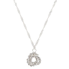 Stone Knot Pendant Necklace,