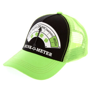 St. Patrick's Day Drunk-O-Meter Trucker Hat,