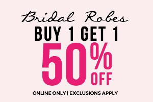 Bridal Robes: Buy 1 Get 1 Free