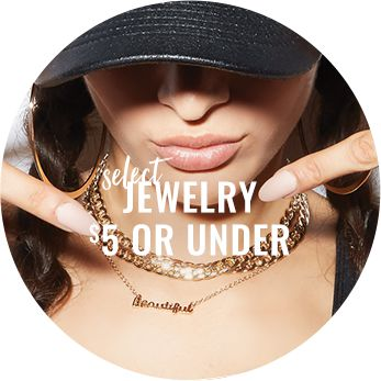 Select Jewelry $5 or Less