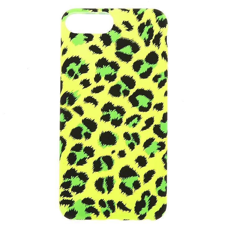 Neon Leopard Phone Case - Fits iPhone 6/7/8 Plus,