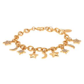 Celestial Charm Bracelet - Gold,