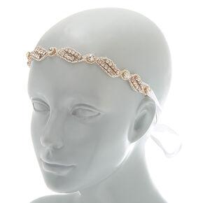 2-In-1 Rhinestone Belt & Headwrap,