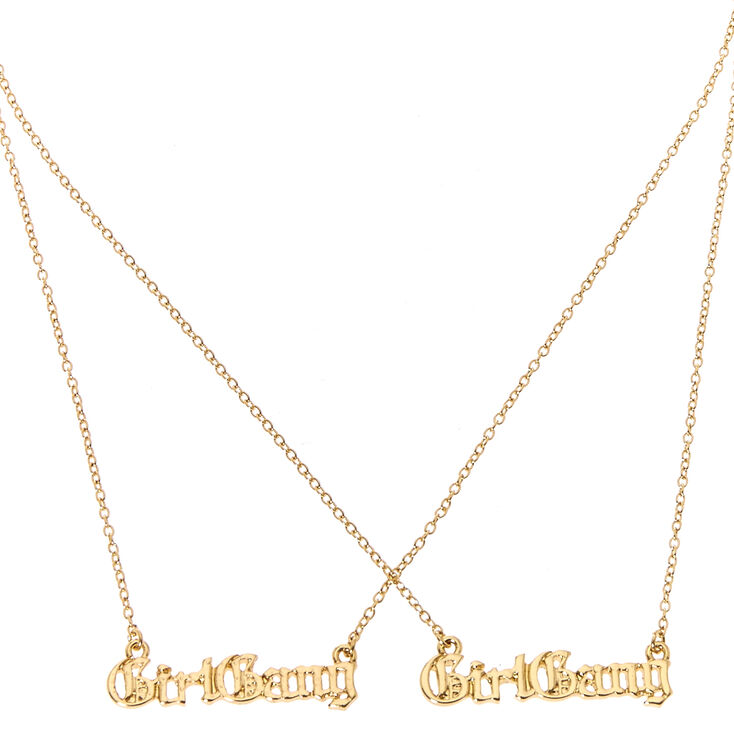 Girl Gang Matching Necklace Set,