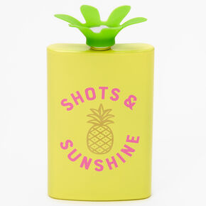 Shots & Sunshine Pineapple Flask,