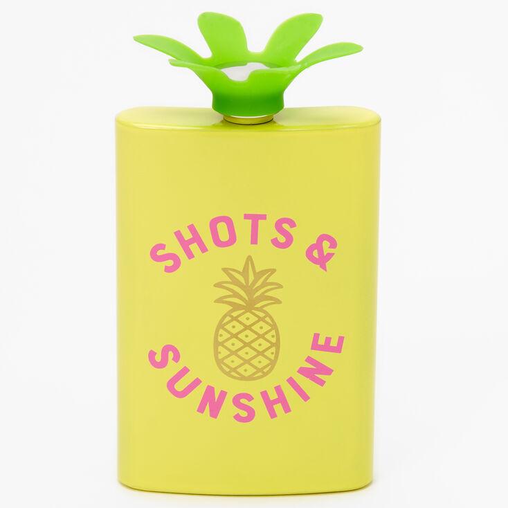 Shots & Sunshine Pineapple Flask,