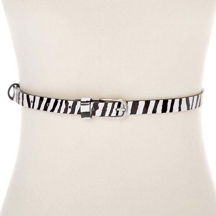 Zebra Fashion Belt,