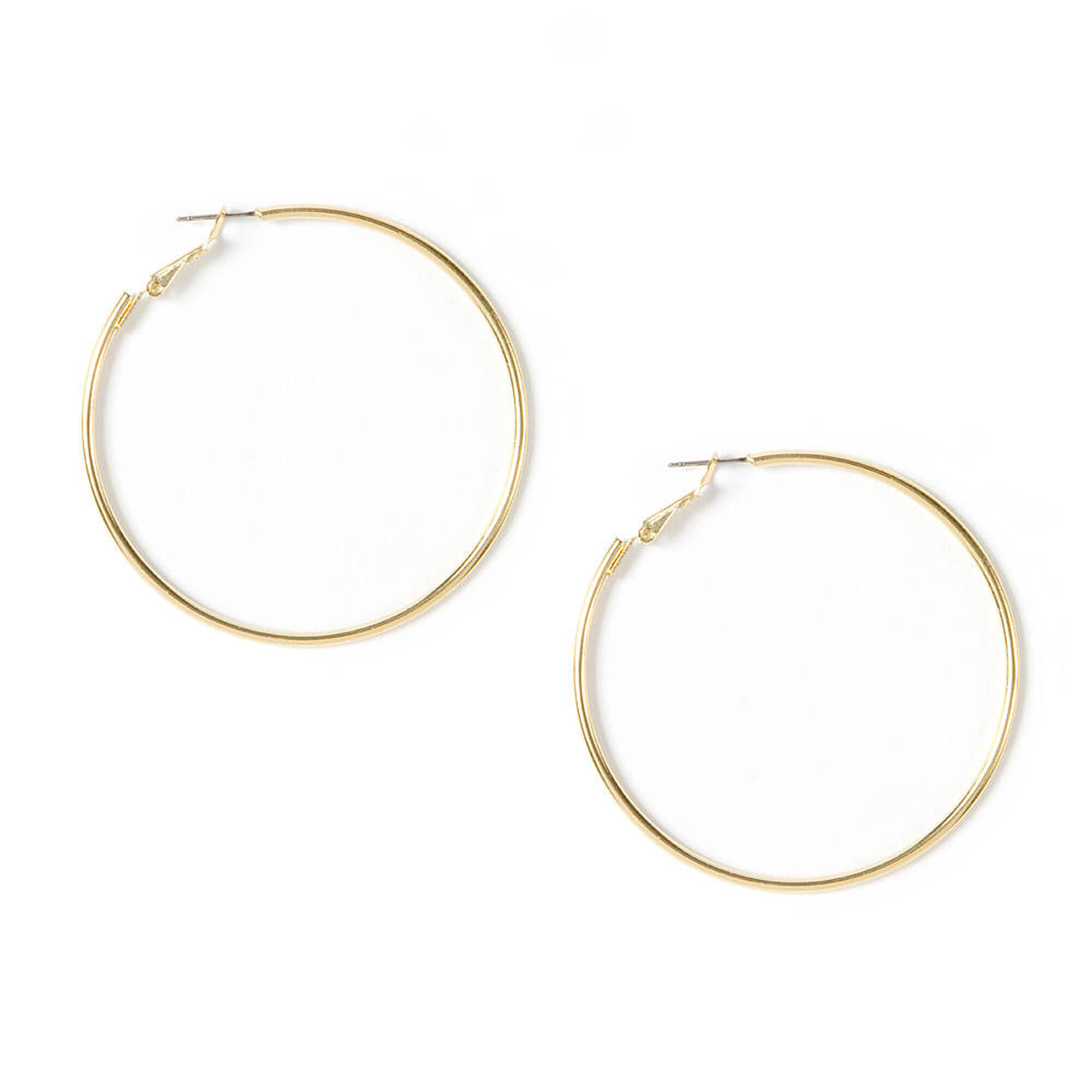 heart hoop tone jewellery us bamboo shaped icing earrings gold