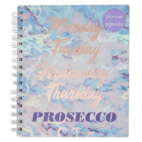 Marble Holographic Planner - Purple,
