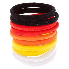 Sunset Rolled Hair Ties - 10 Pack,