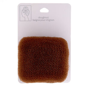 Brown Bun Donut Hair Tool,