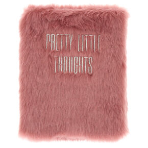 Pretty Thoughts Furry Journal - Purple,