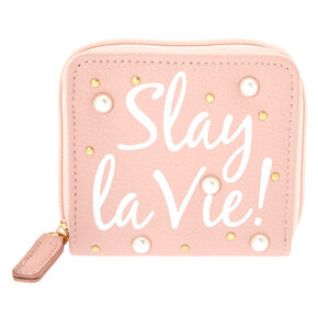 Slay la Vie Wallet - Blush,