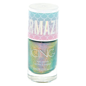 Mermazing Chrome Nail Polish - Mermaid Oil Blue,