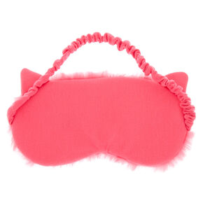 Sequin Lashes Sleeping Mask - Pink,