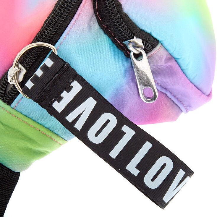 Rainbow Tie-Dye Fanny Pack,