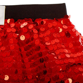 Sequin Santa Tutu - Red,