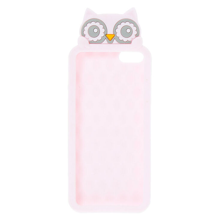 Pink Peaking Owl Phone Case,