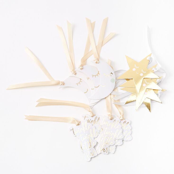 Twinkle Twinkle Little Star Gift Tags - 12 Pack,