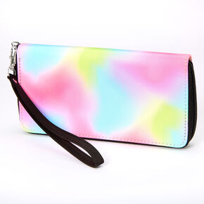 Rainbow Tie Dye Wristlet,