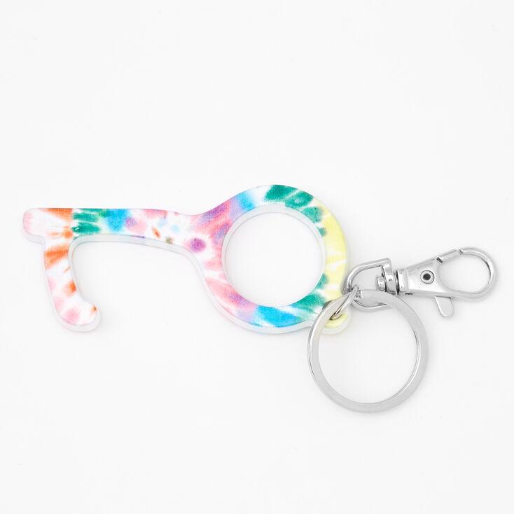Rainbow Tie-Dye Clean Key,