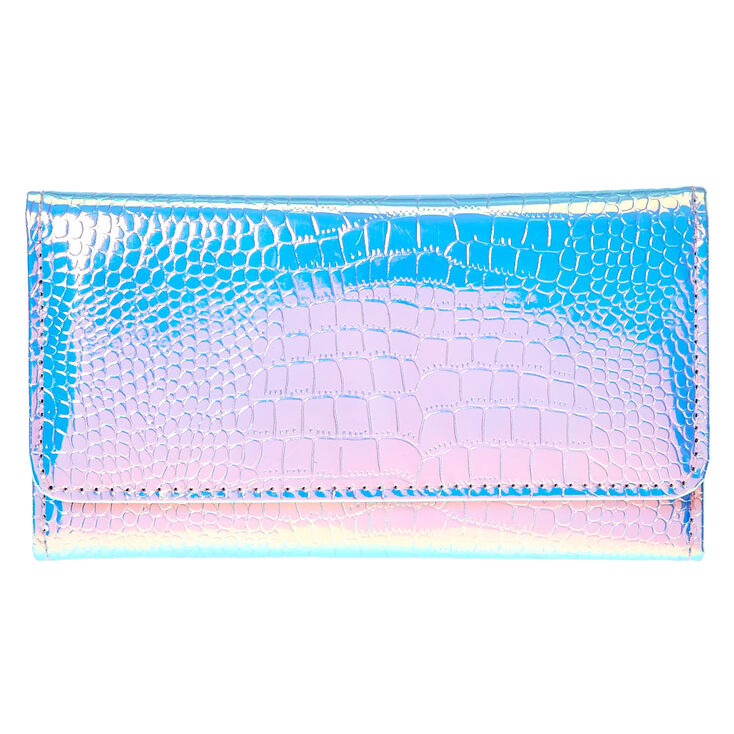 Holographic Tech Wallet,