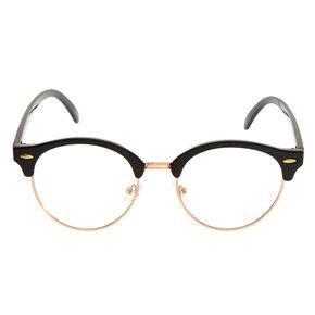 Rose Gold & Black Retro Frames,
