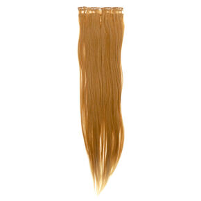 4 Piece Blonde Faux Hair Extensions,