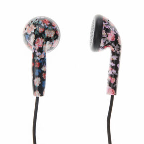 Pastel Floral Earbuds,