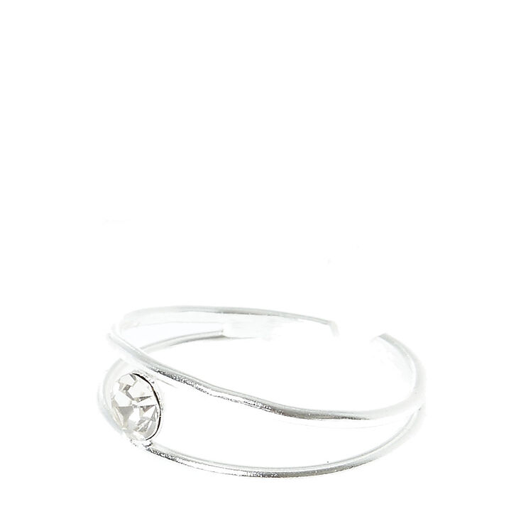 Sterling Silver Bead Band Toe Ring,