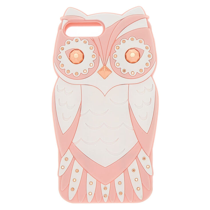 Glam Owl Phone Case - Pink,
