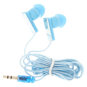 Holographic Ice Earbuds - Blue,