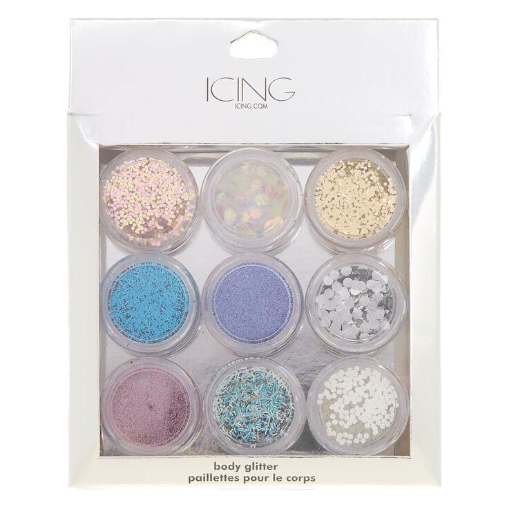 Pastel Body Glitter Set - 9 Pack,