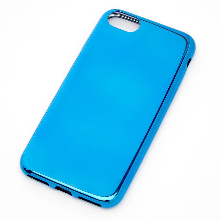 Blue Chrome Phone Case - Fits iPhone 6/7/8/SE,