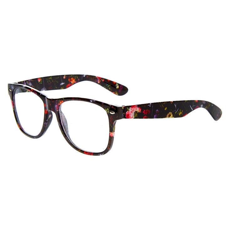 Floral Rectangle Frames - Black,
